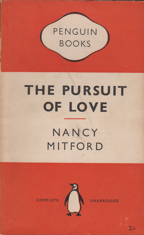 1954 Nancy Mitford The Pursuit of Love Penguin Cover