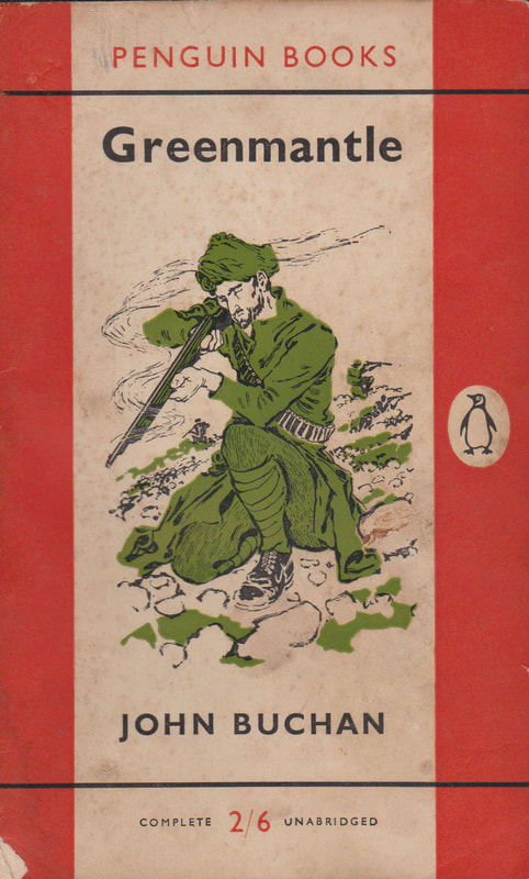 1956 John Buchan Greenmantle Penguin Cover