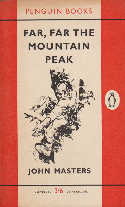 1961 John Masters Far, Far the Mountain Peak (Renato Fratini) Penguin Cover