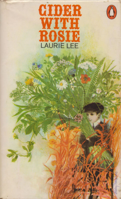1971 Laurie Lee Cider with Rosie (Shirley Thompson) Penguin Cover