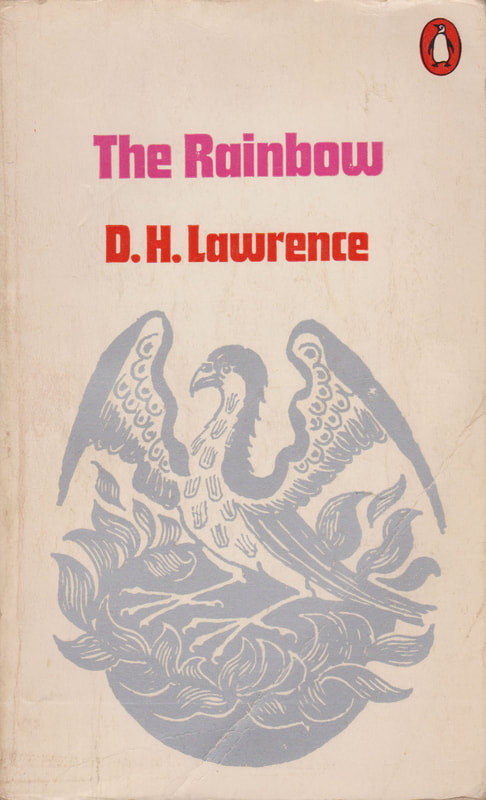 1972 D H Lawrence The Rainbow (Heather Mansell) Penguin Cover