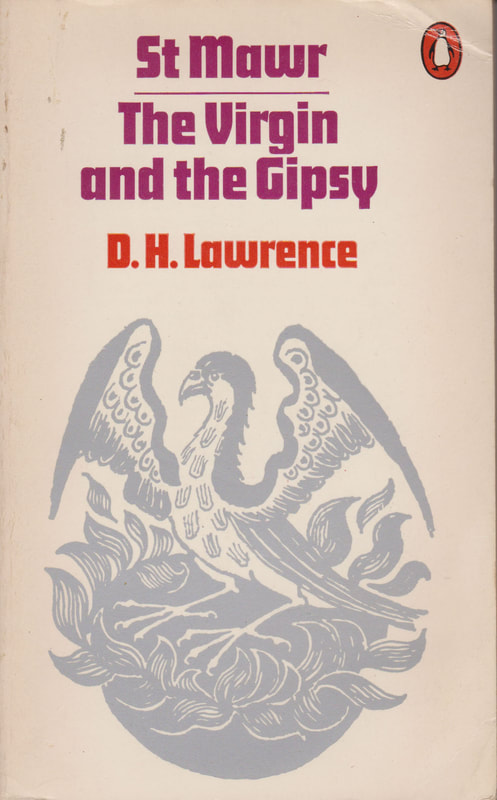 1972 D H Lawrence The Virgin and the Gypsy (Heather Mansell) Penguin Cover