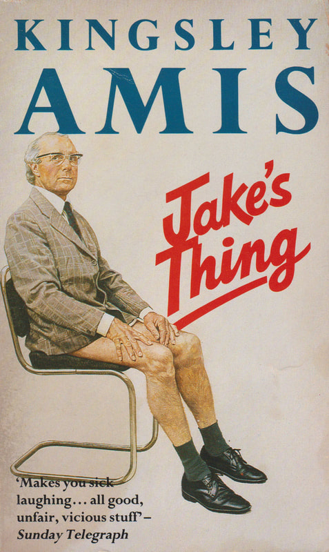 1980 Kingsley Amis Jake's Thing (Jean-Paul Tibbles) Penguin Book Cover