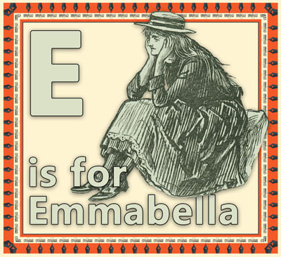 E is for Emmabella flashcard