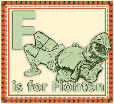 F is for Fionton Flashcard